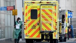 İngiltere'de herhangi müşterek 30 saniyede müşterek Kovid-19 olayı hastanelere ikrar ediliyor