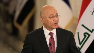 Irak Cumhurbaşkanı Salih: Bağdat'taki patlama halkın sulh ve geleceğini gaye aldı