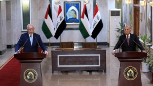 Irak ve Filistin hükümetleri arasında Ramallah'ta ortak görüşmeler başlayacak