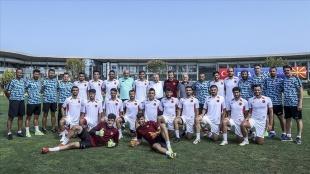 İşitme Engelliler Milli Takımı Riva'daki hazırlıklarını tamamladı