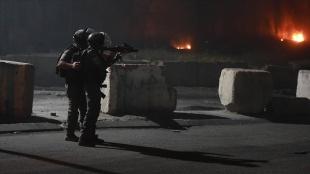 İsrail askerlerinin Lübnan sınırındaki gösteriye müdahalesinde 1 kişi yaralandı