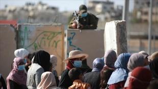İsrail bu ramazan da Batı Şeria'daki Filistinlilerin Mescid-i Aksa'ya gitmesine sınırlama