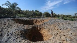 İsrail, Gazze Şeridi'nde konutları, güvenlik merkezini ve tarım arazisini vurdu