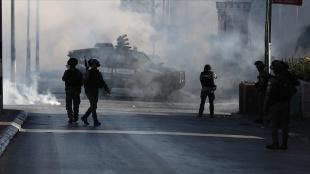 İsrail güçleri, Batı Şeria'daki gösteride 5 Filistinliyi yaraladı