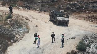 İsrail güçleri, Nablus'un güneyindeki bir köyün girişini yeniden kapattı