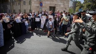 İsrail mahkemesi Kudüs'ün Silvan beldesindeki ailelerin tehciriyle ilgili kararı yine erteledi