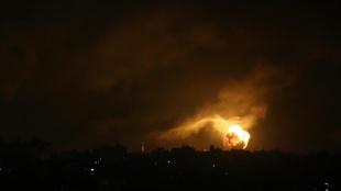 İsrail savaş uçakları yoğun şekilde Gazze'nin kuzeyini bombalıyor