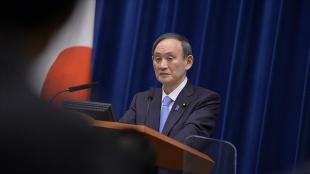 Japonya'da yapılan ankete göre Başbakan Suga ve kabinesine kamuoyu desteği yüzde 30'da kal