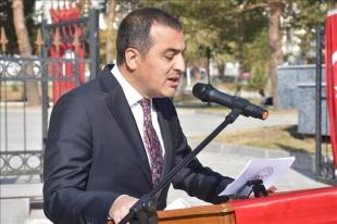 Kars Valisi Öksüz Anadolu Ajansının 101. kuruluş yıl dönümünü kutladı