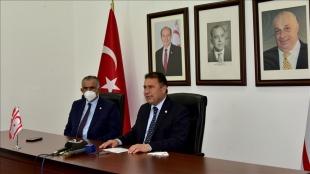 KKTC Başbakanı Saner: Kıbrıs Türk tarafı Cenevre'de yapıcı bir tutum izledi
