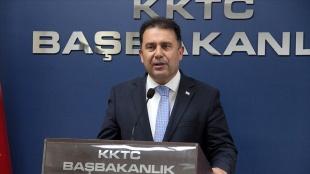 KKTC Başbakanı Saner: Rum kesimiyle geçiş kapılarının açılmasına yarından itibaren hazırız