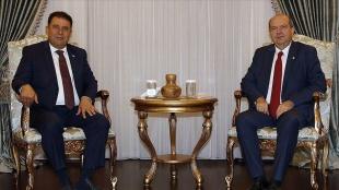 KKTC Cumhurbaşkanı Tatar ve Başbakan Saner, İsrail'in Filistinlilere yönelik saldırılarını kına