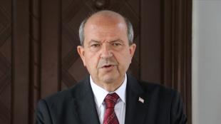 KKTC Cumhurbaşkanı Tatar'dan Türkiye'ye yerli aşı 'TURKOVAC' tebriği