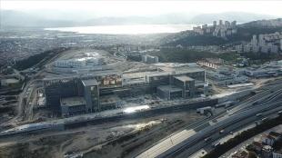 Kocaeli Şehir Hastanesi inşaatının yüzde 74'ü tamamlandı