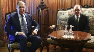 Lavrov, Ermenistanlı mevkidaşı Ayvazyan ile Ermenistan'daki durumu görüştü