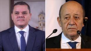 Libya Başbakanı, Fransa Dışişleri Bakanı'nın 'Libya'daki yol haritasını desteklediğin