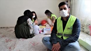 Lösemiyi yenen Muhammed, kanserli çocuklar ve ailelerine umut aşılıyor