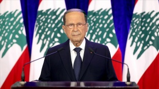 Lübnan Cumhurbaşkanı Avn'dan İsrail'le deniz sınırının uluslararası uzmanlarca belirlenmes