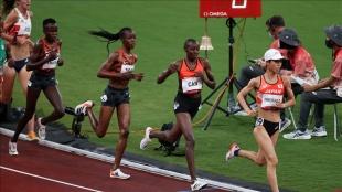 Milli atlet Yasemin Can, kadınlar 5000 metrede finale yükseldi