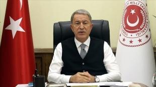 Milli Savunma Bakanı Akar: Irak'ın kuzeyindeki operasyonlarda 1581 terörist etkisiz hale getirildi