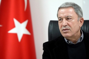 Milli Savunma Bakanı Akar'dan 'Mehmetçik görevinin başında' mesajı