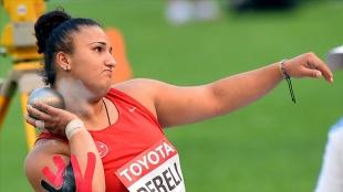 Milli sporcu Emel Dereli, kadınlar gülle atmada olimpiyat kotası aldı