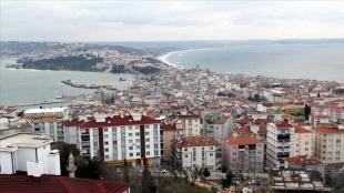 'Mutlu kent' Sinop'ta turizmcilerden vatandaşlara 'Kovid-19 tedbirlerine uyalım&