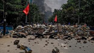 Myanmar'da darbe karşıtı komite askeri hükümete karşı sivil hükümet kurdu