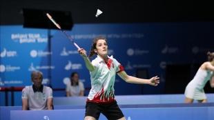 Neslihan Yiğit, Avrupa Badminton Şampiyonası'nda yarı finale yükseldi