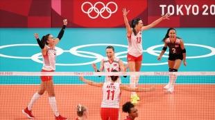 Olimpiyat Oyunları'n yarın 5 bireysel sporcu ile A Milli Kadın Voleybol Takımı müsabakalara çık