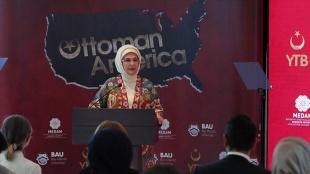 'Osmanlı'nın Amerikası' belgeseli ABD'de Emine Erdoğan'ın katılımıyla tanıtıldı