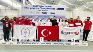 Özel sporculardan Avrupa Şampiyonası'nın ikinci gününde 4'ü altın 7 madalya