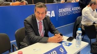 Prof. Dr. Mehmet Günay, Avrupa Üniversite Sporları Birliği üyeliğine seçildi