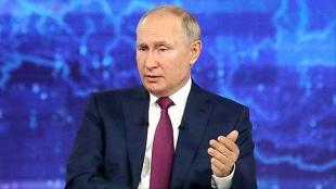 Putin: Türkiye'ye doğal gaz sevkiyatı artıyor