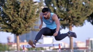 Rekortmen atlet Sinan Ören, Tokyo Olimpiyat Oyunları düşüncesince kota peşinde