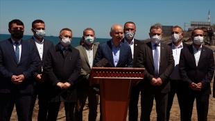 Rize İyidere Lojistik Limanı Projesi'ne STK'ler, meslek kuruluşları ve vatandaşlardan dest