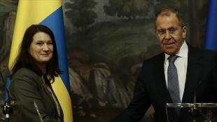 Rusya Dışişleri Bakanı Lavrov ve AGİT Dönem Başkanı Linde, Ukrayna'nın doğusundaki durumu görüş