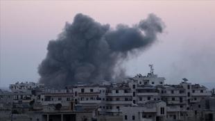 Rusya İdlib'e hava saldırıları düzenledi