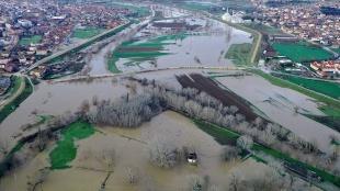 Sağanak yağışsızlık tehlikesi canlı Edirne'de barajları doldurdu