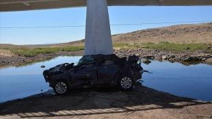 Şanlıurfa'da köprüden düşen otomobildeki 5 kişi hayatını kaybetti