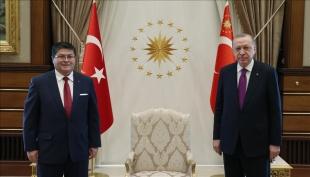 Şili Büyükelçisi Castro, Cumhurbaşkanı Erdoğan'a güven mektubu sundu