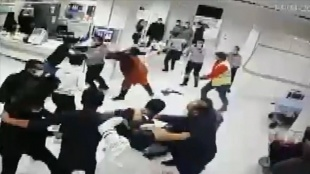 Sivas'ta sağlık çalışanları ile güvenlik görevlilerine saldıran 8 hasta yakını gözaltına alındı