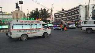 Somali'de askeri karargah yakınlarında intihar saldırısı düzenlendi