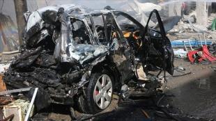 Suriye'nin kuzeyindeki Bab ilçesinde bombalı terör saldırısı: 2 yaralı