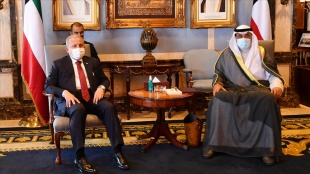 TBMM Başkanı Mustafa Şentop Kuveyt'te temaslarda bulundu