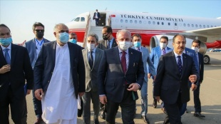 TBMM Başkanı Şentop, Azerbaycan'a geldi