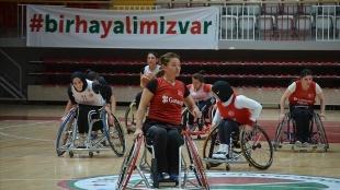 Tekerlekli Sandalye A Milli Kadın Basketbol Takımı'nda hedef Paris Paralimpik Oyunları