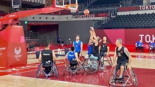 Tekerlekli Sandalye Basketbol Takımı'nın hedefi Tokyo 2020'den Türkiye'ye madalyayla