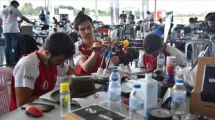 TEKNOFEST'te 'Liseler Arası İnsansız Hava Araçları Yarışması' Bursa'da başladı