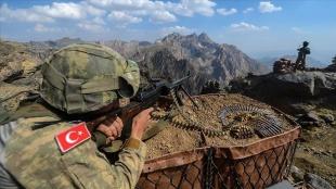 Terör örgütü PKK'dan kaçan iki terörist güvenlik güçlerine teslim oldu
